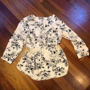 Saint Tropez floral blouse
